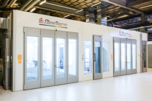Spray Booths & Preparation Areas